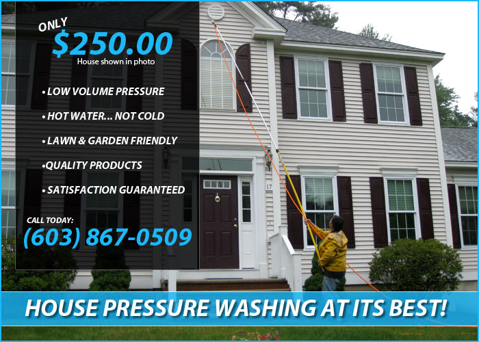 how to clean house siding with pressure washer
